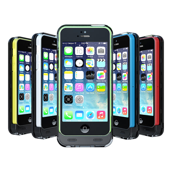 Reveal Battery Case (2400mAH) - iPhone 5/5s/5C