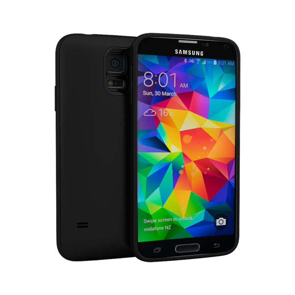 more photos bebb9 fb3aa Unity S5 Battery Case (2800mAH) - Samsung Galaxy S5