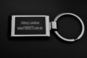 Personalised Metal keyring (boxed)