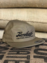 Brothers' Coffee Roasters logo five panel