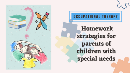OT Approved Homework strategies for parents of children with special needs