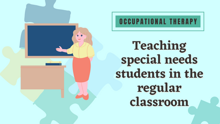 Teaching special needs students in the regular classroom