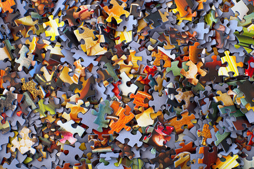 puzzle pieces for kids with ADHD or autism