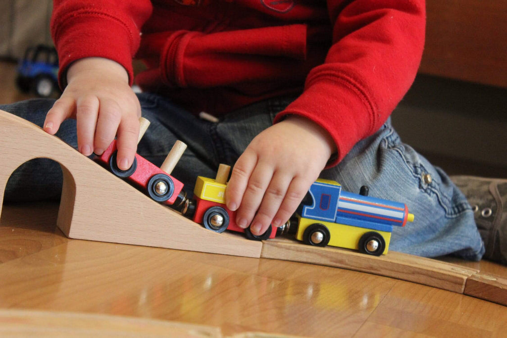 Toy train for autism or ADHD
