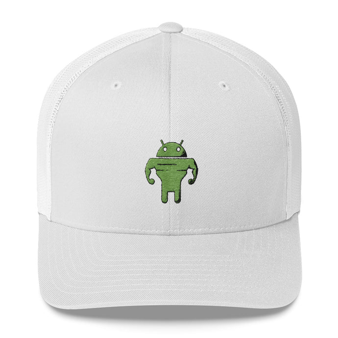 CodingWithMitch Android Trucker Cap