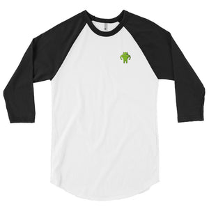 CodingWithMitch Android 3/4 sleeve raglan shirt