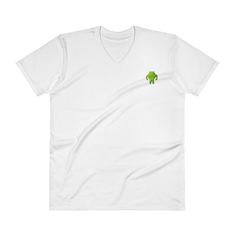 CodingWithMitch Android V-Neck T-Shirt