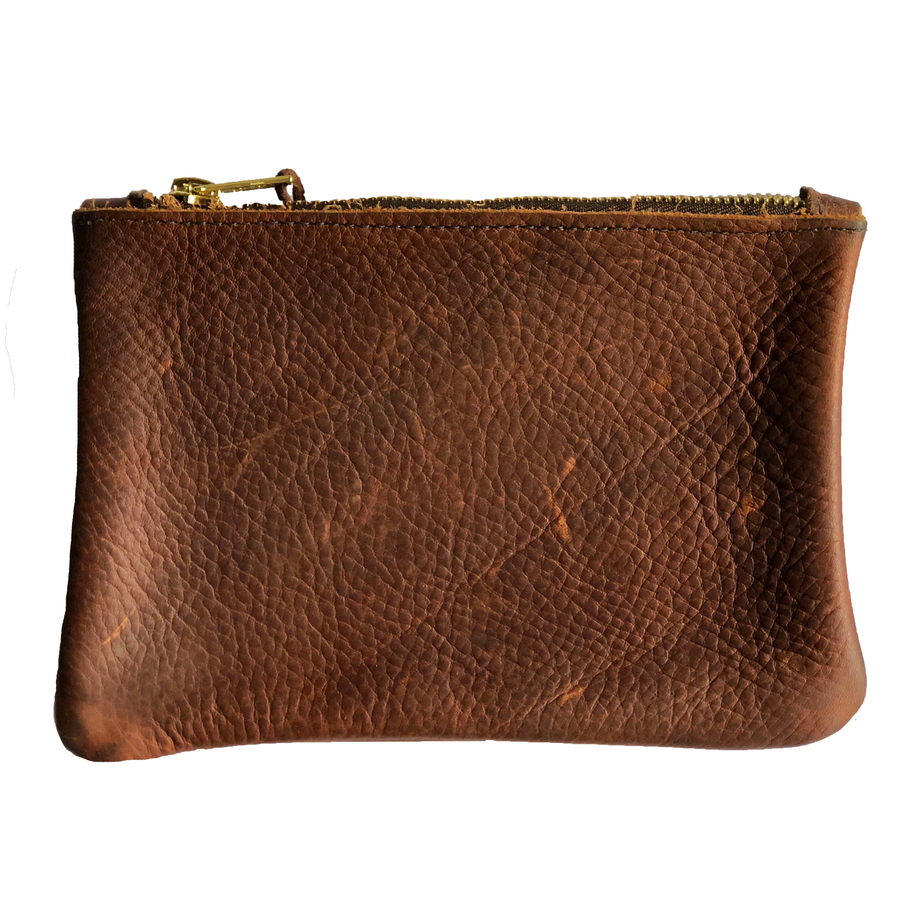 The Betty Clutch in Brown