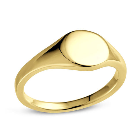 Signet Ring- Gold