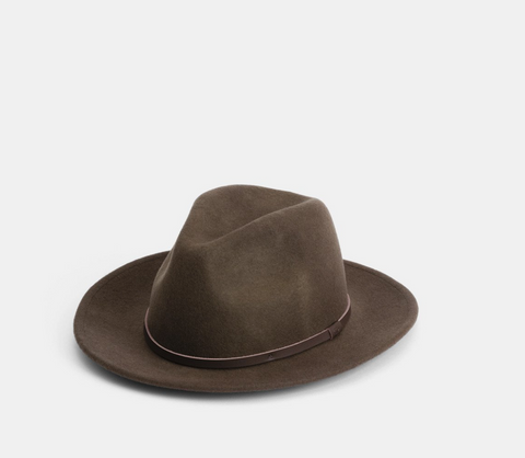 William Brown- Wide Brim Wool Hat