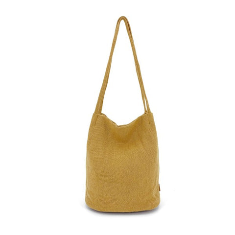 Natural Long Handle - Mustard
