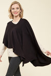 Jasmine 4-in-one one size - poncho black