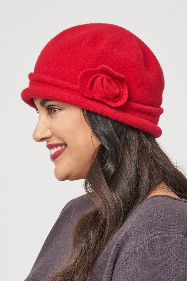 Spencer wool cloche hat - Parkhurst Knitwear