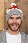 Canadiana eco cotton beanie/toque - man