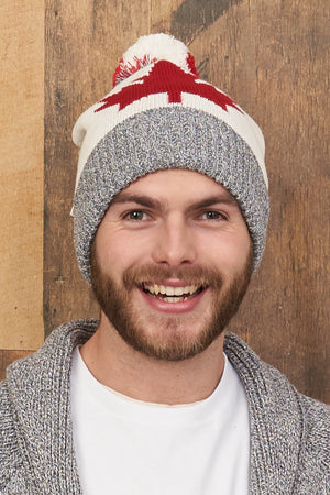 Canadiana Eco Cotton Beanie/Toque - Unisex - Parkhurst Knitwear