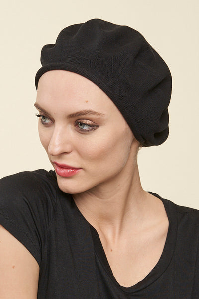 Cotton Artist Beret Head Cover - Parkhurst Knitwear