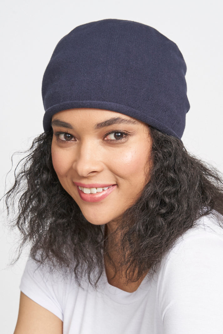 Cotton Roller Beanie Pull On - Parkhurst Knitwear