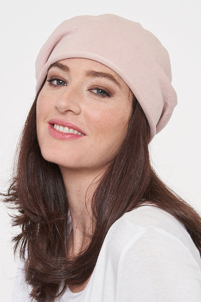 Slouchy Cotton Hat - Parkhurst Knitwear