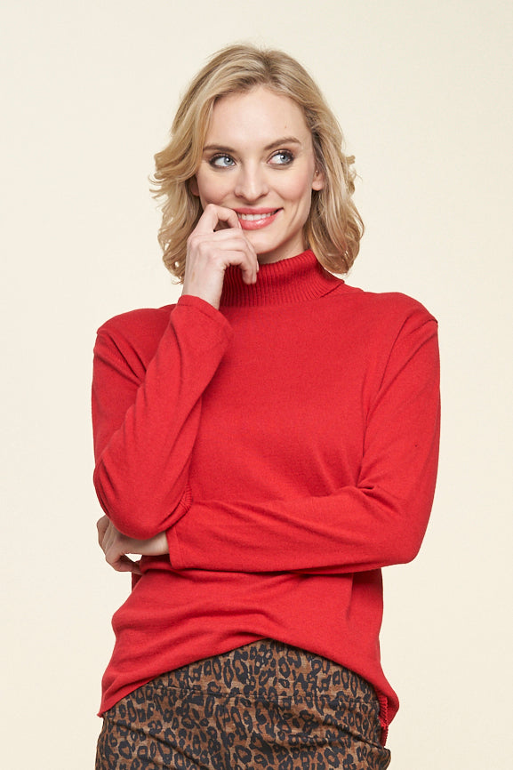 Almondy Turtleneck - Parkhurst Knitwear