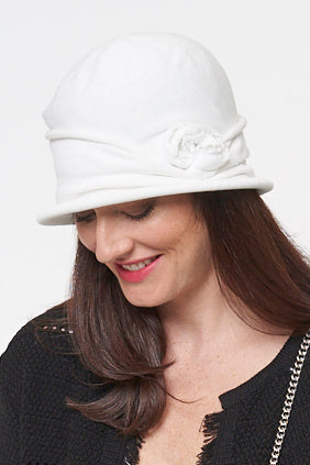 Shelley Cotton Cloche Hat - Parkhurst Knitwear