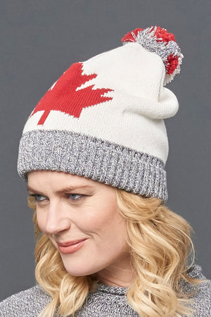 Canadiana eco cotton beanie/toque - unisex