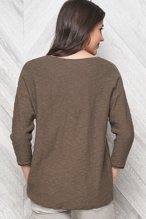 Dominique Pullover - 100% Cotton - Parkhurst Knitwear