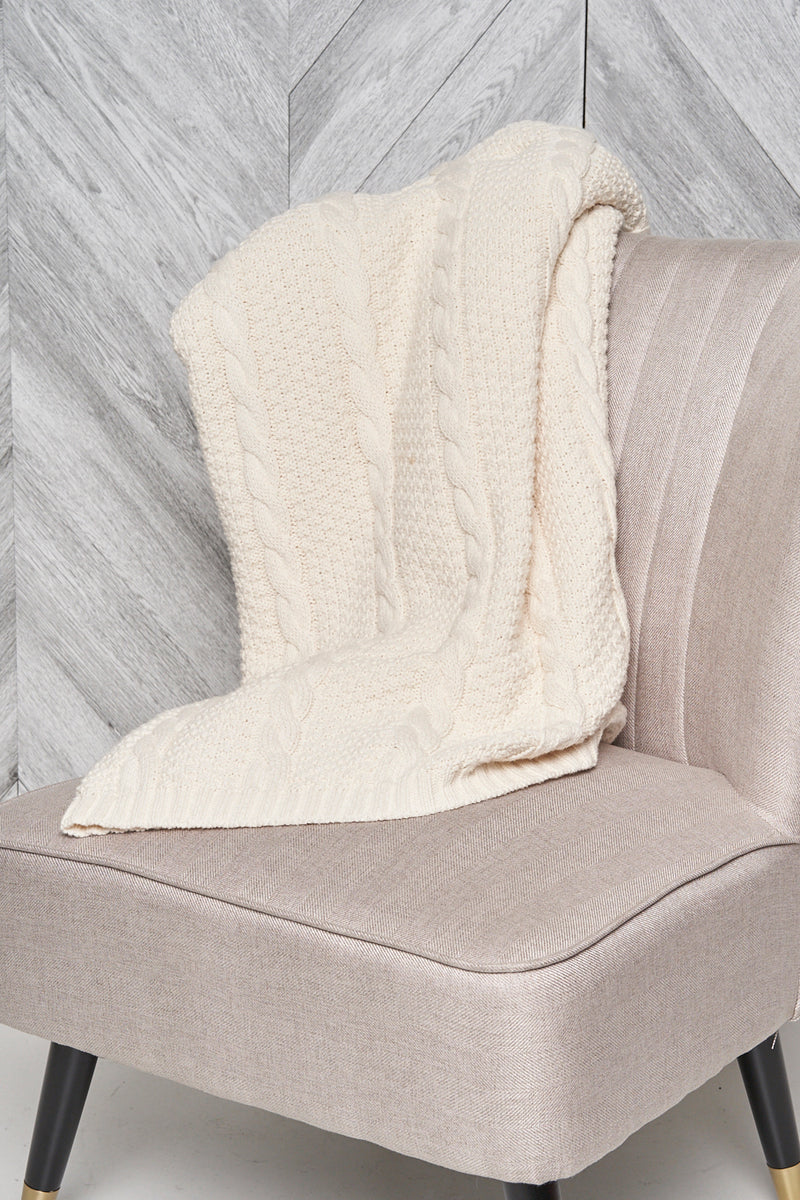 Cotton Slub Blanket - Parkhurst Knitwear
