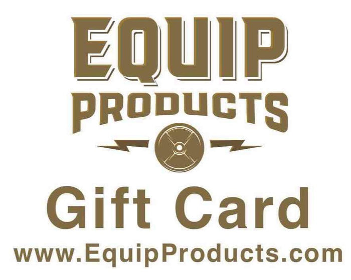 Equip Products Gift Card With Equip Logo In Brown