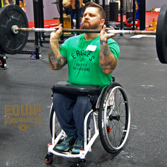 Athlete Michael Mills Using The LapMat™ at CrossFit Mayhem