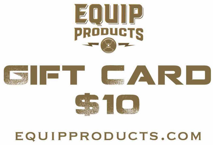 Equip Products Gift Card With Equip Logo In Brown $10