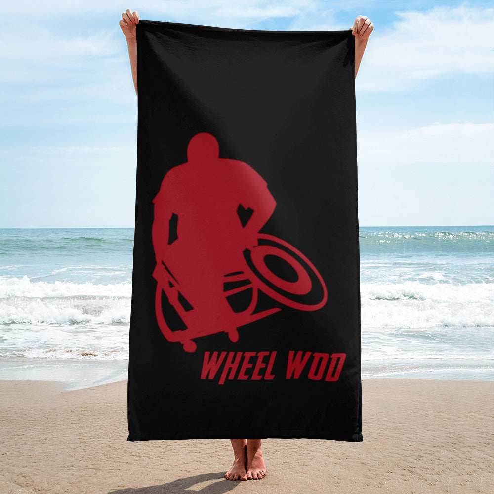 WheelWod Beach Towel