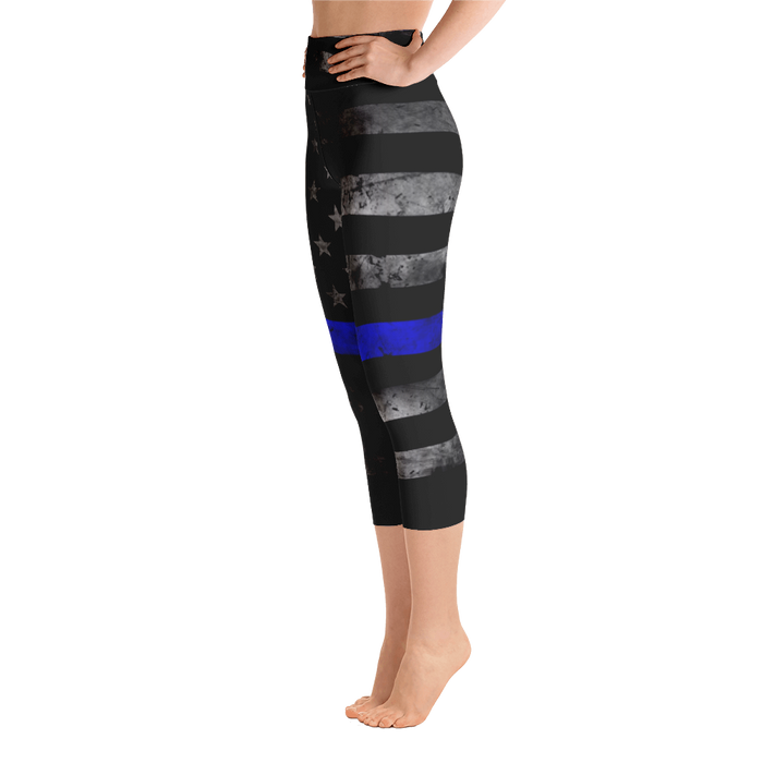 x - Thin Blue Line Leggings