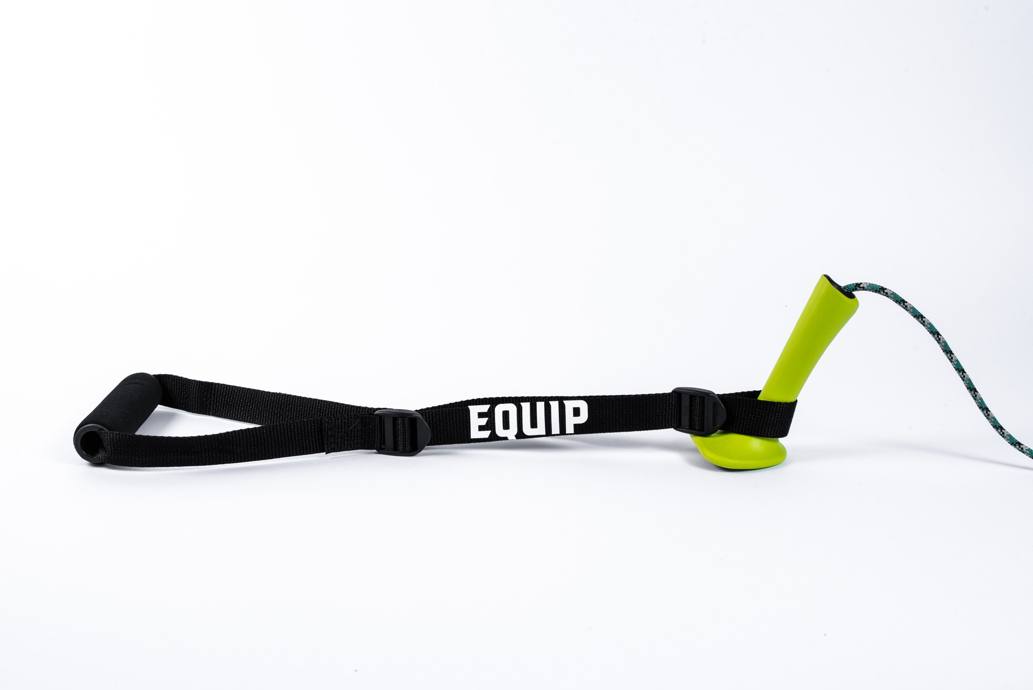Equip Ski Erg Extension on a Concept2 Ski Erg Green Handle