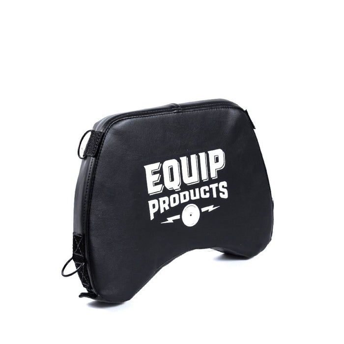 LapMat™ Small with Equip Product Logo in White