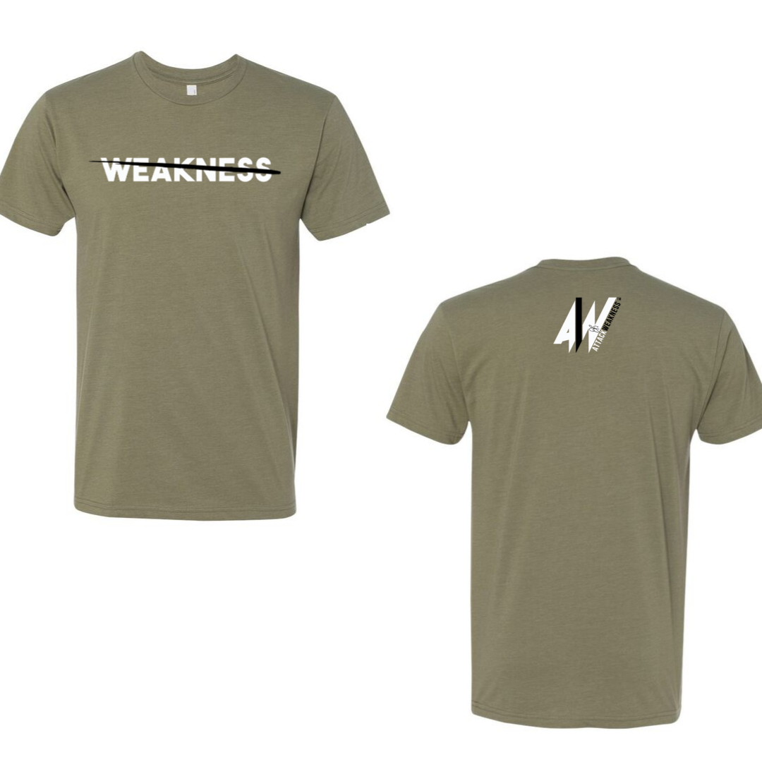 Attack Weakness Olive Colored Shirt Jed Snelson Collection