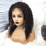 COLODO 13X6 Deep Wave Human Hair Lace Front Wigs Nature Colour For Black Women