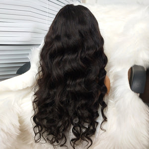 COLODO Body Wave Human Hair Lace Wigs 150% Density Nature Colour For Black Women