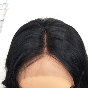 COLODO 360Lace Wigs Short Wave Human Hair Wigs Nature Color For Black Women