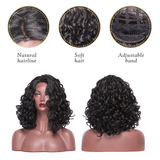 This is the details of this wig-hairline,adjustable band.