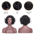 This is the wigs details-hairline ,adjustable band