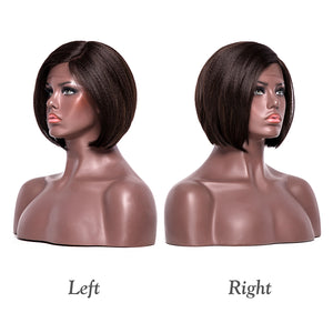 This is the left and right side of this wig.(different colors)