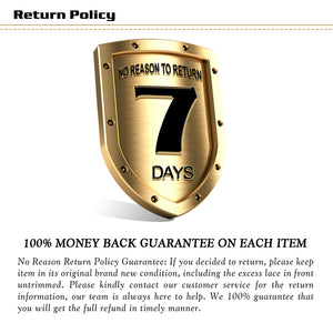 This picture shows that there's no reason for a seven-day return.