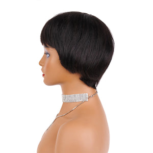 Colodo Brazilian Short Bob Human Hair wig