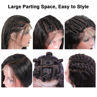 Large parting space,easy to style.