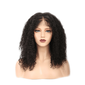 This is a COLODO 8A Brazilian Virgin Human Hair 360 Lace Frontal Wig Kinky Curly For Woman.