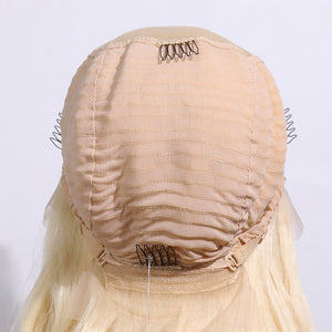 COLODO Lace Front Wigs Blonde Wigs for Women Synthetic Hair Long Wavy