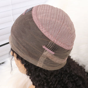 100% Brazilian Virgin Hair Sexy Natural Curly 360 Lace Wig  [BTW08]