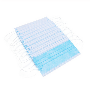 Disposable mask 3-Layer Non-woven Disposable Elastic Mouth Soft Breathable Face Mask