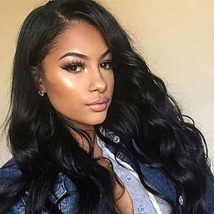 COLODO 360 Lace Front Wigs Peruvian Virgin Hair Body Wave 360  ZY-22