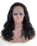 This is Pre Plucked 360 Lace Front Wigs Peruvian Virgin Hair Free Shipping Body Wave 360 Lace Wigs.